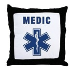 Medic and Paramedic Throw Pillow