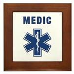 Medic and Paramedic Framed Tile
