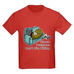 Couch Potato Hiking Kids Dark T-Shirt