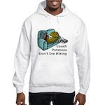 Couch Potato Hiking Hooded Sweatshirt