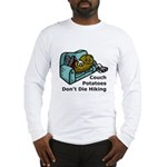 Couch Potato Hiking Long Sleeve T-Shirt