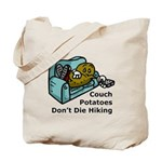 Couch Potato Hiking Tote Bag