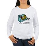 Couch Potato Hiking Women's Long Sleeve T-Shirt