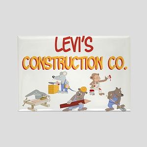 Levi's Construction Co. Rectangle Magnet