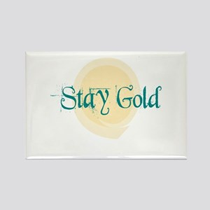 Stay Gold Rectangle Magnet