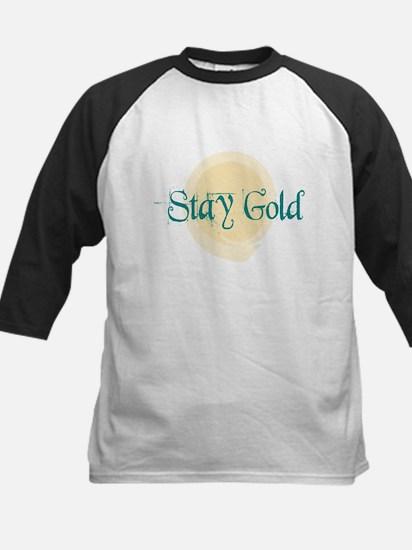 Stay Gold Kids Baseball Jersey