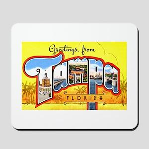 Tampa Florida Greetings Mousepad