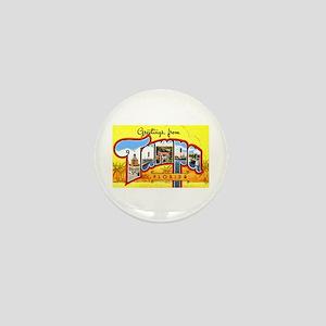 Tampa Florida Greetings Mini Button