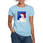 SHOPPING MALL SANTAS Women's Light T-Shirt