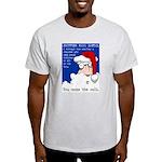 SHOPPING MALL SANTAS Light T-Shirt