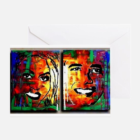 President barack obama occasions Greeting Card