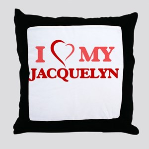 I love my Jacquelyn Throw Pillow