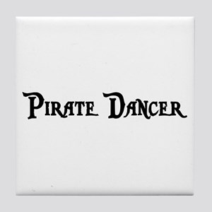 Pirate Dancer Tile Coaster