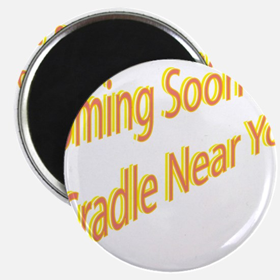 """Cute Expectant mom 2.25"""" Magnet (10 pack)"""