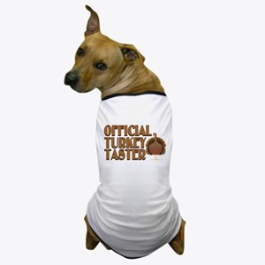 fficial Turkey Taster Dog T-Shirt