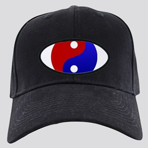 Red White Blue Yin Yang Baseball Hat