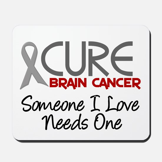 CURE Brain Cancer 2 Mousepad