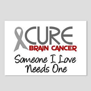 CURE Brain Cancer 2 Postcards (Package of 8)