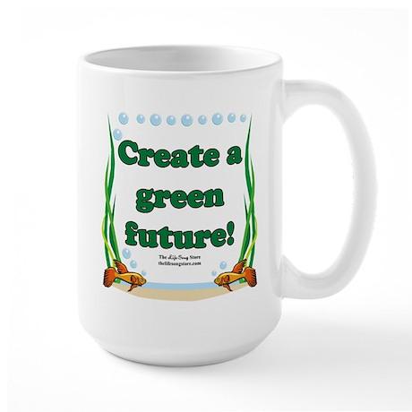 Green Future Large Mug