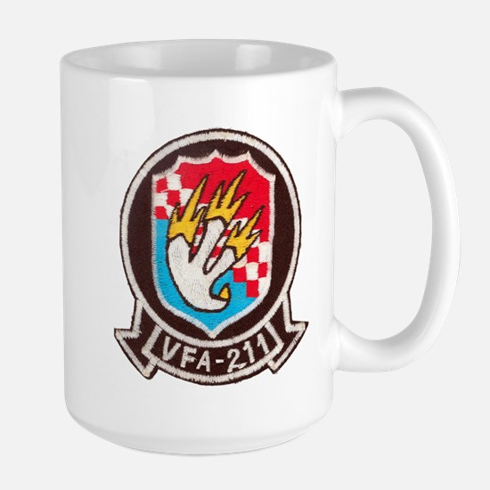 VFA 211 Checkmaters Large Mug