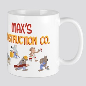 Max's Construction Co. Mug