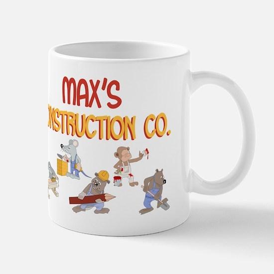 Max's Construction Co. Mug