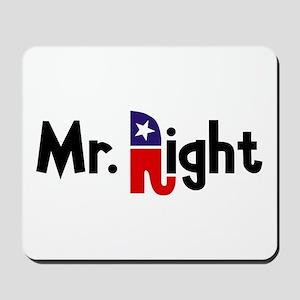 Mr. Right Mousepad