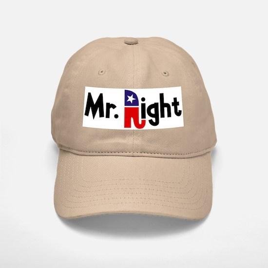 Mr. Right Baseball Baseball Cap