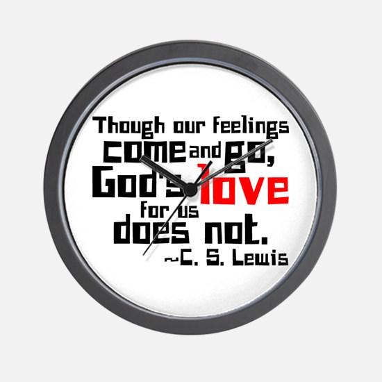God's Love for Us Wall Clock