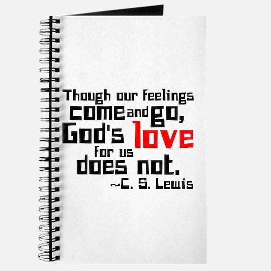 God's Love for Us Journal