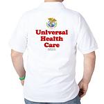 Universal Health Care Golf Shirt