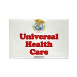 Universal Health Care Rectangle Magnet (100 pack)