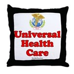 Universal Health Care Throw Pillow