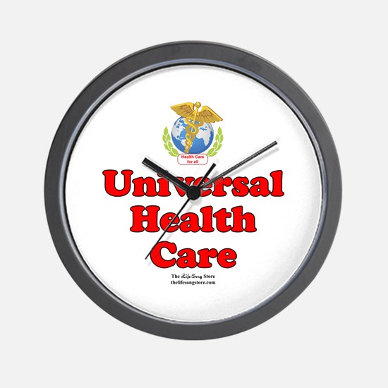 Universal Health Care Wall Clock