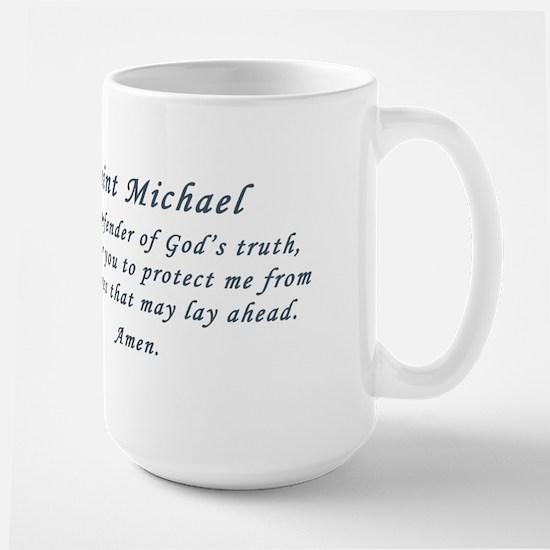 Saint Michael Large Mug