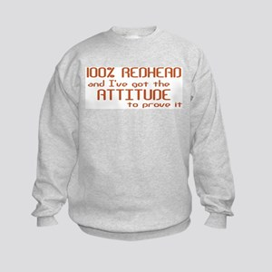 100% Redhead Kids Sweatshirt
