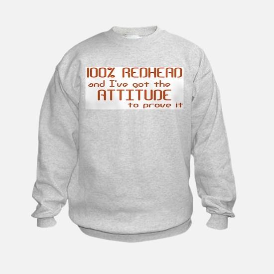 100% Redhead Sweatshirt