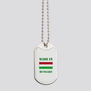 Made in Hungary Dog Tags