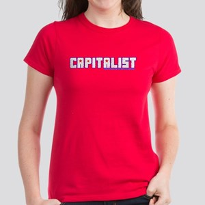 Capitalist - Women's Dark T-Shirt