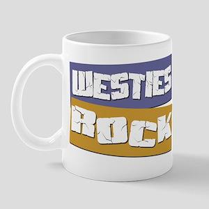 Westies ROCK Mug