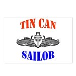 Tin Can Sailor Postcards (Package of 8)