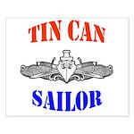 Tin Can Sailor Small Poster