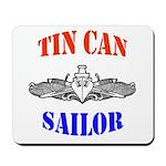 Tin Can Sailor Mousepad