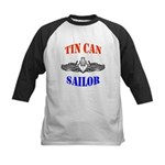 Tin Can Sailor Kids Baseball Jersey
