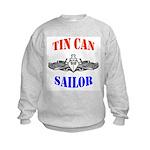 Tin Can Sailor Kids Sweatshirt