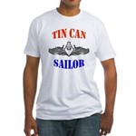 Tin Can Sailor Fitted T-Shirt