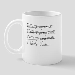 I Write Code Mug