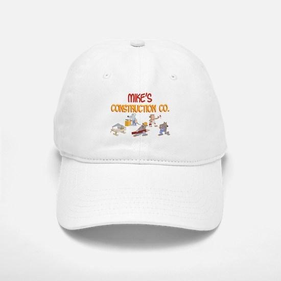 Mike's Construction Co. Baseball Baseball Cap