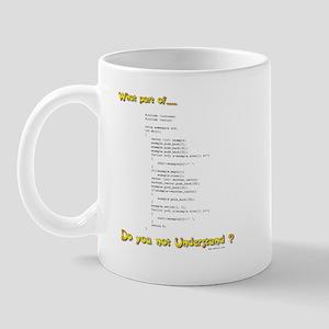 Understand C? Mug