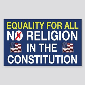 Equality For All Rectangle Sticker